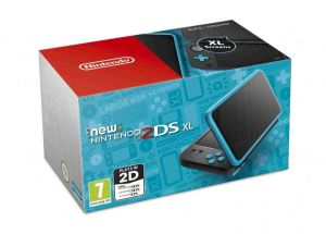 New Nintendo 2DS XL (Black & Turquoise)