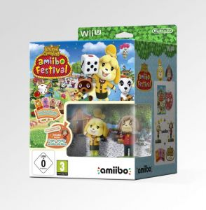 Gra Animal Crossing: Amiibo Festival + 2 amiibo + 3 card (Nintendo WiiU)