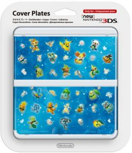 New 3DS Cover Plate 30 (Pokemon Mystery Dungeon)
