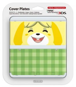 New 3DS Cover Plate 6 (Isabelle)