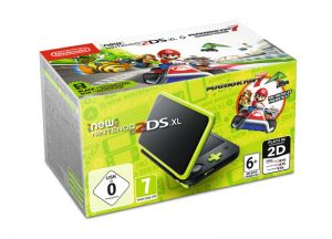 New Nintendo 2DS XL + Mario Kart 7 (download code)
