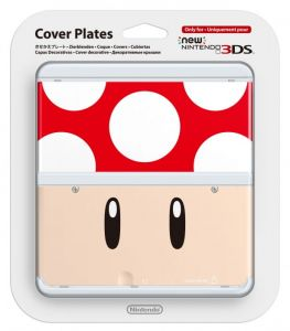 New 3DS Cover Plate 7 (Toad Red)
