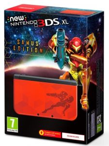 New Nintendo 3DS XL Samus Edition