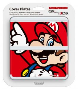 New 3DS Cover Plate 1 (Mario)