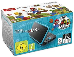 New Nintendo 2DS XL + Super Mario 3D Land (download code)