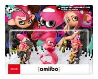 Figurka Amiibo Splatoon Octoling 3-Pack
