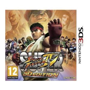 Gra Super Street Fighter IV: 3D Edition (Nintendo 3DS)