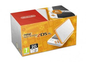 New Nintendo 2DS XL (White & Orange)