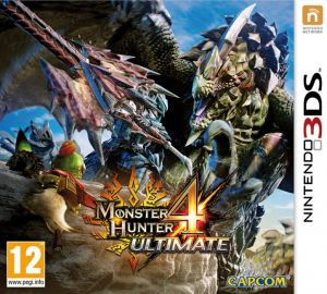 Gra Monster Hunter 4 Ultimate (3DS)