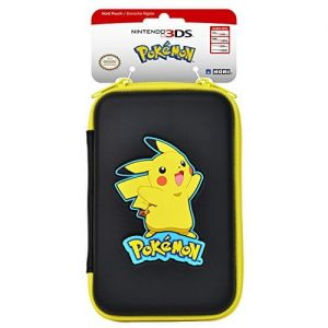 Ochronne etui do konsoli New 3DS XL (Pikachu - Black)