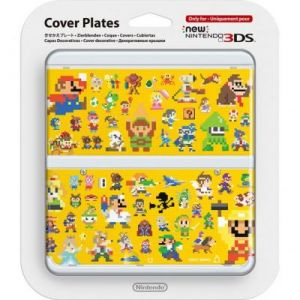 New 3DS Cover Plate 29 (Multiplayer Characters)