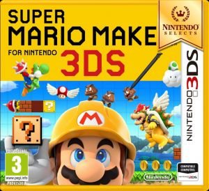 Gra Super Mario Maker Select (Nintendo 3DS)