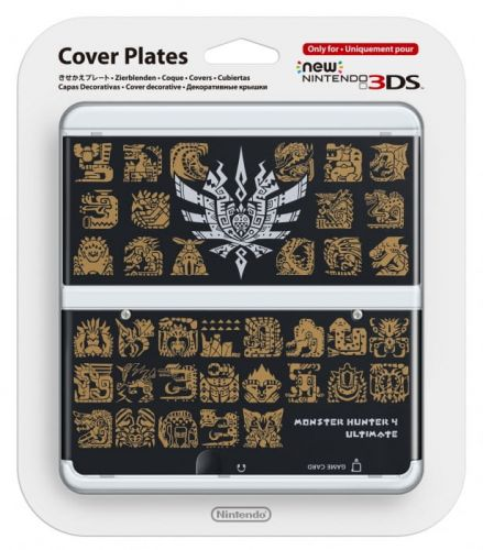 New-3DS-Cover-Plate-Monster-Hunter-4-(Black).jpg