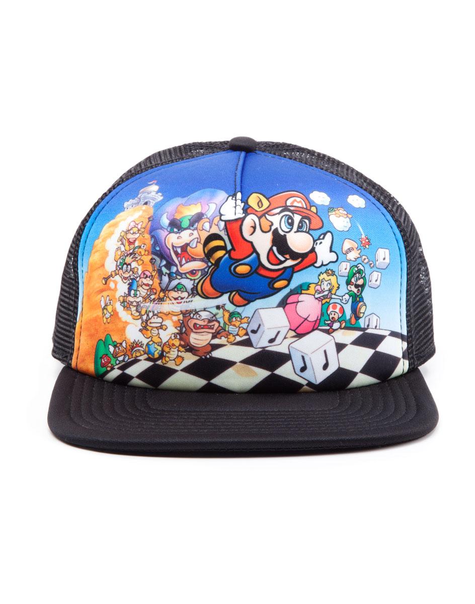Czapka Super Mario Bros 3 (siatka) - HDmarket.pl 23cb9f002a12