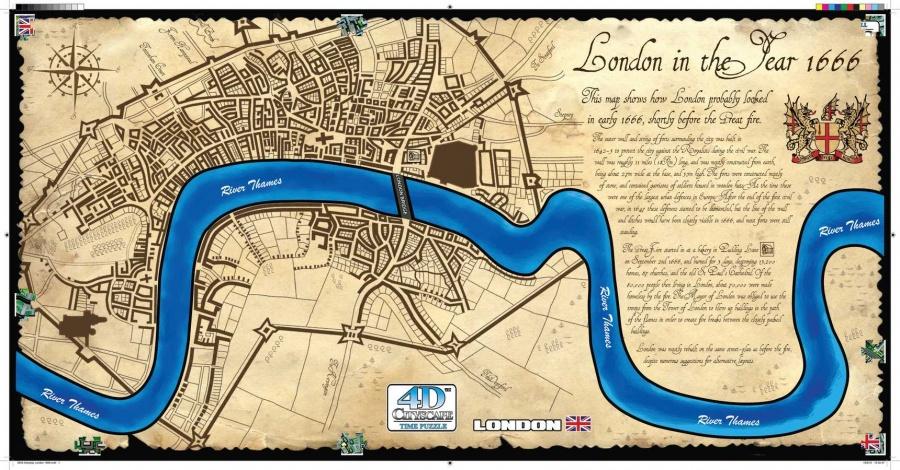 Puzzle 4D - Londyn