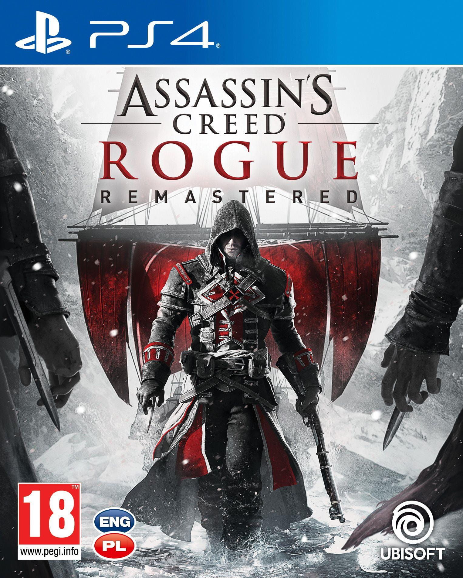 Okładka Assassin's Creed Rogue Remastered